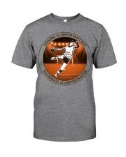 SCHOOL IS handball Classic T-Shirt tile