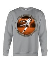 SCHOOL IS handball Crewneck Sweatshirt tile