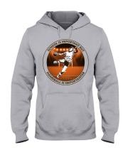 SCHOOL IS handball Hooded Sweatshirt front