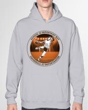 SCHOOL IS handball Hooded Sweatshirt garment-hooded-sweatshirt-front-04