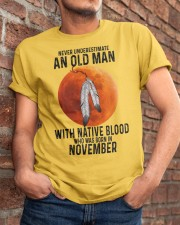 11 native old man Classic T-Shirt apparel-classic-tshirt-lifestyle-26