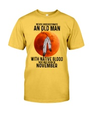 11 native old man Classic T-Shirt front