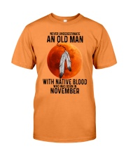 11 native old man Premium Fit Mens Tee tile