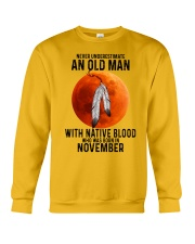 11 native old man Crewneck Sweatshirt tile