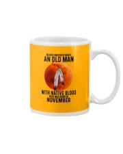 11 native old man Mug tile