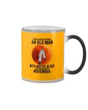 11 native old man Color Changing Mug tile