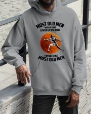 most old men fencing Hooded Sweatshirt apparel-hooded-sweatshirt-lifestyle-front-11