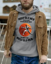 most old men fencing Hooded Sweatshirt apparel-hooded-sweatshirt-lifestyle-front-113