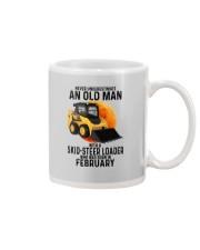 02 Skid-steer loader old man color Mug tile