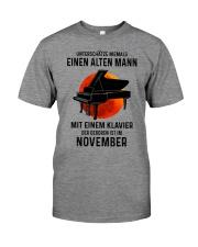 11 piano old man german Premium Fit Mens Tee tile