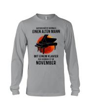 11 piano old man german Long Sleeve Tee tile