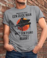 03 piano old man dutch Classic T-Shirt apparel-classic-tshirt-lifestyle-26