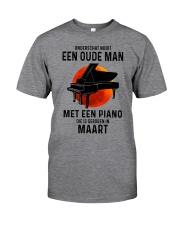 03 piano old man dutch Classic T-Shirt front