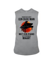 03 piano old man dutch Sleeveless Tee tile