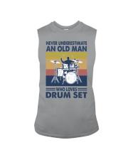 drum set oldman vintage Sleeveless Tee tile