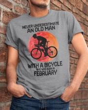 cycling never 02 Classic T-Shirt apparel-classic-tshirt-lifestyle-26