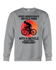cycling never 02 Crewneck Sweatshirt tile