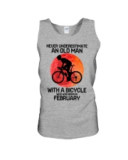 cycling never 02 Unisex Tank tile