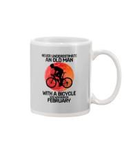 cycling never 02 Mug tile
