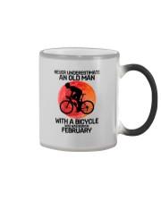 cycling never 02 Color Changing Mug tile