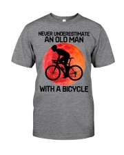 07 hat cycling old man  Classic T-Shirt tile