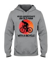 07 hat cycling old man  Hooded Sweatshirt tile