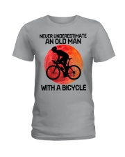 07 hat cycling old man  Ladies T-Shirt tile