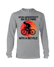 07 hat cycling old man  Long Sleeve Tee tile