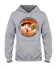 i like beer parachuting Hooded Sweatshirt front