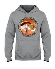 i like beer parachuting Hooded Sweatshirt tile