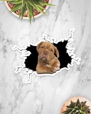 Pitbull Sticker - Single (Horizontal) aos-sticker-single-horizontal-lifestyle-front-06