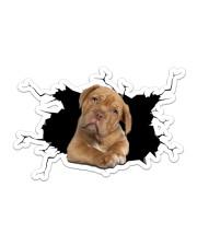 Pitbull Sticker - Single (Horizontal) front