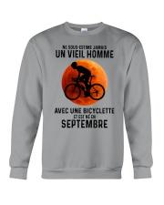 09 Cycling Old Man France Crewneck Sweatshirt tile