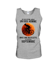 09 Cycling Old Man France Unisex Tank tile