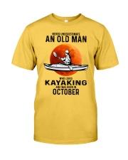 never-old-men-kayaking-10 Classic T-Shirt front