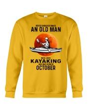 never-old-men-kayaking-10 Crewneck Sweatshirt tile