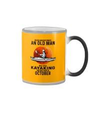 never-old-men-kayaking-10 Color Changing Mug tile