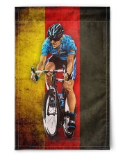 """cycling flag de 11.5""""x17.5"""" Garden Flag front"""