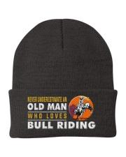 Hat Bull Riding Old man Knit Beanie thumbnail