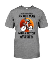 11 cycling never old man Premium Fit Mens Tee tile