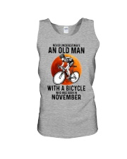 11 cycling never old man Unisex Tank tile