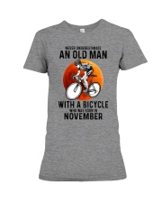 11 cycling never old man Premium Fit Ladies Tee tile
