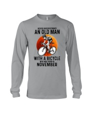 11 cycling never old man Long Sleeve Tee tile