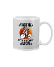 11 cycling never old man Mug tile