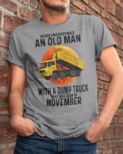 11 dump truck old man color Classic T-Shirt apparel-classic-tshirt-lifestyle-26