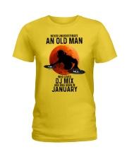 01 dj mix olm Ladies T-Shirt tile