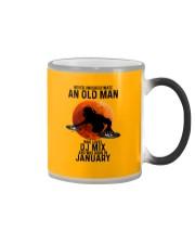 01 dj mix olm Color Changing Mug tile