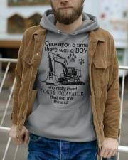 Excavator once upon Hooded Sweatshirt apparel-hooded-sweatshirt-lifestyle-front-113
