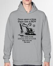 Excavator once upon Hooded Sweatshirt garment-hooded-sweatshirt-front-04