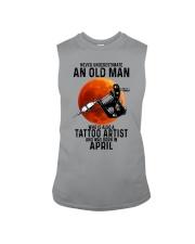 04 tatoo artist never old man Sleeveless Tee tile